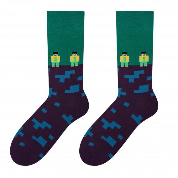 Brick - men's socks design 2