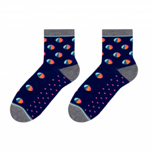 Chart colorful socks design 1