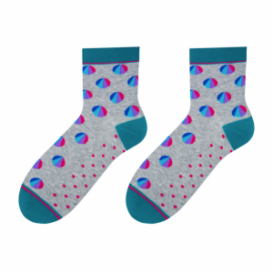 Chart colorful socks design 2