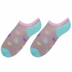 Flowers socks design 1