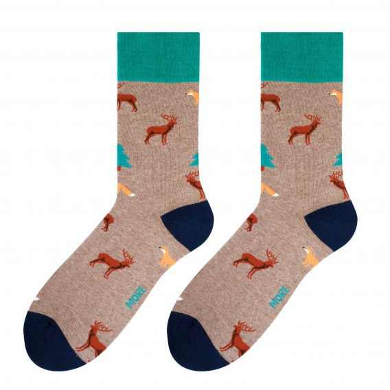 Forest socks design 1