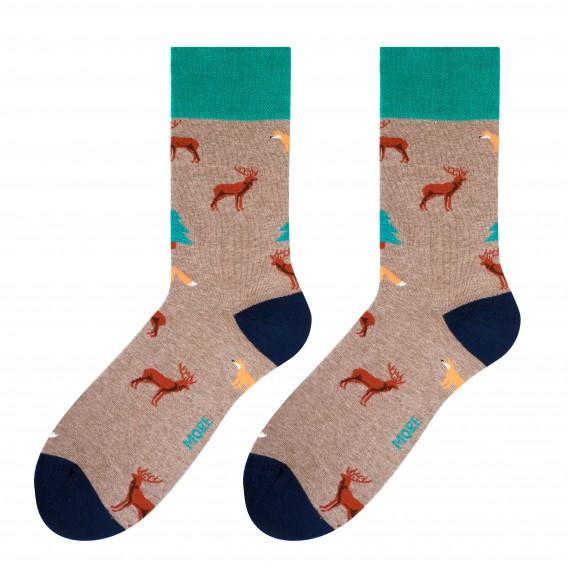 Forest socks design 1