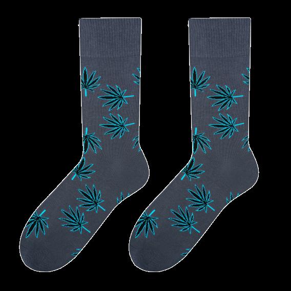 Leaves - men's socks design 1