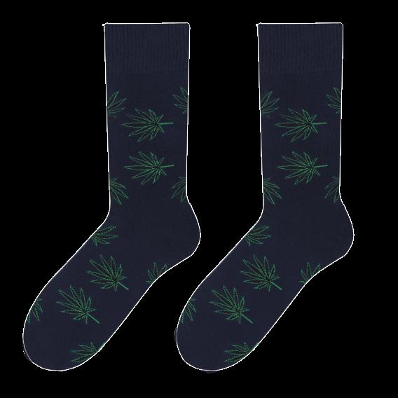 Leaves - men's socks design 2