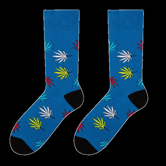 Leaves - men's socks design 3