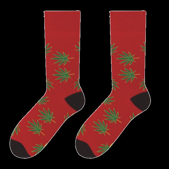 Leaves - men's socks design 4