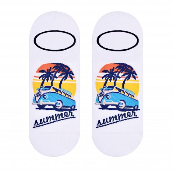 Miami socks design 1