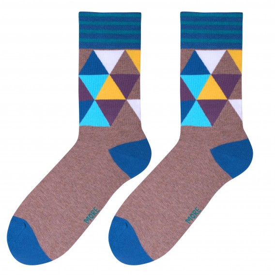 Mosaic socks design 1