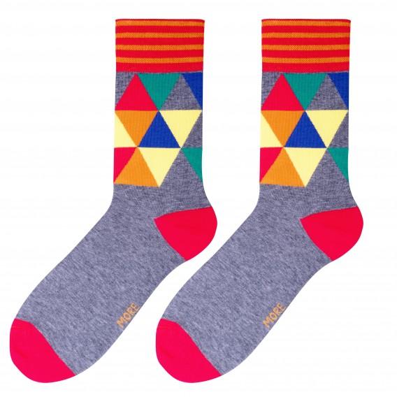 Mosaic socks design 2