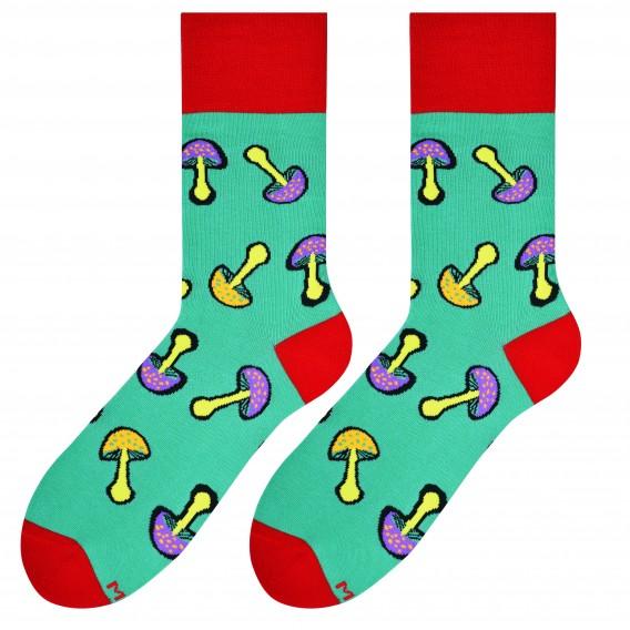 Mushrooms socks design 2