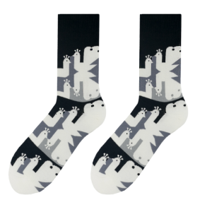 Peacock men's socks design 2