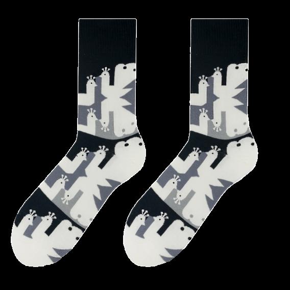 Peacock men's socks design 2
