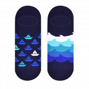 Sailboat socks design