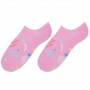 Scribbles socks design 1