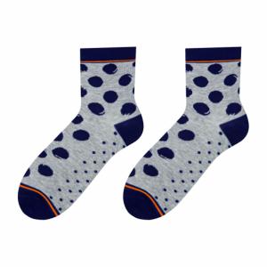 Spots colorful socks design 2