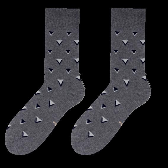 Triangle socks design 1