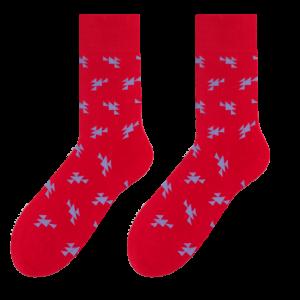 Triangles men's socks design 1