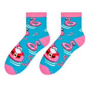 Santa socks design 1
