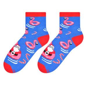 Santa socks design 2