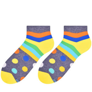 Dots and stripes socks